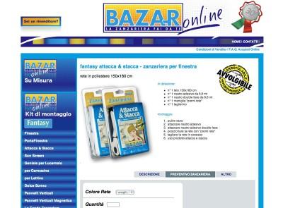 Zanzariera Bazar Online | eCommerce