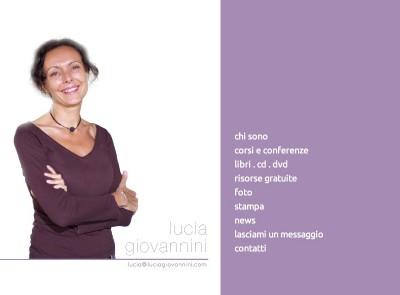 Lucia Giovannini | Web Site